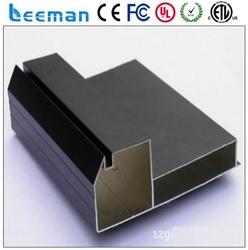 p16 outdoor rgb module aluminium profile led light box aluminum frame