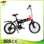 China TOP e-cycle 250W althium folding electric bicycle
