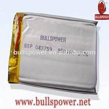 Hunger promotion 11.1v rc lipo/li-ion battery 3.7v 900mah