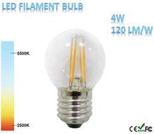 4W 520lm Ra>80 Filament LED Bulb