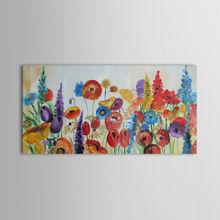 design caldo dipinto a mano floreale natura fiore paesaggio dipinto ad olio del mare arte