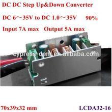 dc to dc non isolated auto. step up /step down converter 18v 19v 20v 21v