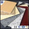 Material especial de design em mármore de alumínio composta de painel acp/acm da fábrica