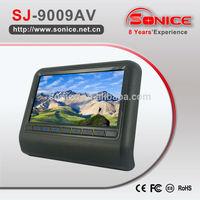 9 inch detachable headrest monitor
