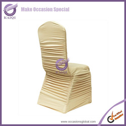 #951wholesale wedding custom color cheap spandex stretch polyester wedding chair covers