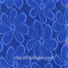 new arrival/fancy fashion nylon design factory lace fabric/wedding dress