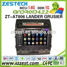 ZESTECH Hot Welcom Android Car gps navigation for toyota Land Cruiser