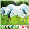 HI hot sale CE EN71 0.8/1.0mm PVC/TPU Colorful/big inflatable balls,giant plastic bubble,bubble ball suit