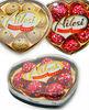 Heart shape 8pcs chocolate wholesale chocolate ODM