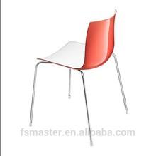 Italian style ABS chrome frame Catifa 53-4 legs chair designed by Lievore Altherr Molina European style Catifa 53 series chair
