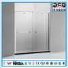 home 8mm tempered glass aluminium alloy seal bath screen
