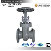 Cast steel rising stem butt weld gate valve pn16 china
