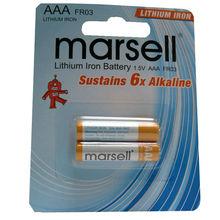 1.5V 1100mAh LFB10450 Li-FeS2 AAA battery