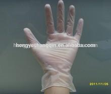 Disposable vinyl hand gloves/powder free XXL vinyl gloves