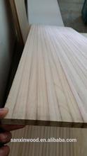 Solid paulownia wood surfboard building kit