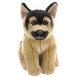 Black and Tan plush German Shepherd dog puppy for sale.
