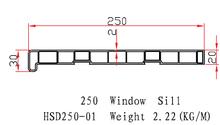 CE&AMMA Certificated Anti UV Protection UPVC Profile Plastic Interior Window Sills