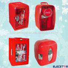 DC 12V 110V mini car fridge, 4-25L, thermoelectric mini cooler & warmer AC/DC mini fridge for coca cola