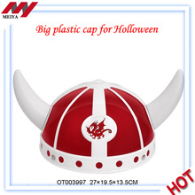 Hot Sale Big Angle Helmet Gifts Toys,plastic hat and cap