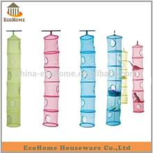 mesh fabric hanging toy storage