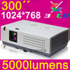 Best home cinema full HD 1080p3LCD 5000 anis high lumens 3D interactive whiteboard projector