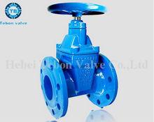 Non-rising stem wedge gate valve