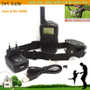 Professional Remote Control Large Dog Shock Collars with Vibrate Stimulate