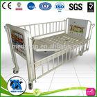 Manual Mobile Children Medical kids cartoon bed