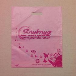 printed custom made Plastic Shopping Bag