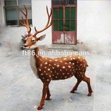 OEM design Factory price animals decoration animated singing reindeer