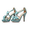 Lady Flower Platform High Heel Brazilian Sandal