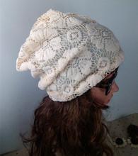 Winter Knitting Hats Women Ear Warm Cheap Beret Caps