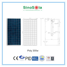high efficiency good price 300w poly solar panel for home use ,camping