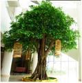 Fabricant pas cher arbres acier artificielle banian arbre en gros direct ficus arbre