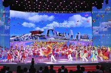 3D LED display western led backdrops stage LED display