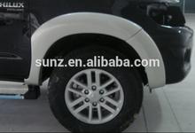 Toyota Pick up TOYOTA HILUX VIGO fender flare side guard wheel cover color design