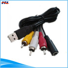 RCA to usb converter and adapter with rca to usb