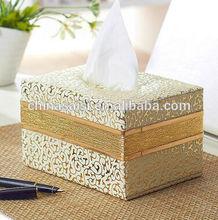 unique design restaurant use cheap white tissue box