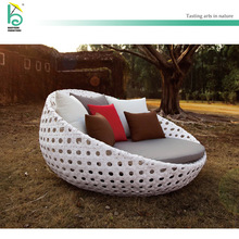 hotel outdoor bed round sun lounger