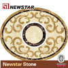 Newstar waterjet marble tile design floor pattern
