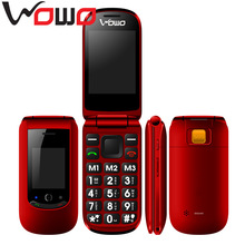 Basic Simple Senior Mobile Phone Big Buttons SOS 1.8 inch GSM elder phone