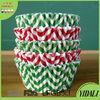 Mini cupcakes paper baking cups strip printing