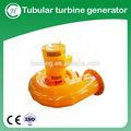 turbina tubular mini gerador hydro power plant