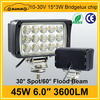 Superior quality 3600LM 45w led truck work light