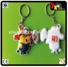 photo keychain/nepal bags/ pvc Led key ring