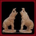 vita dimensioni esterne elefante statua di marmo per la vendita