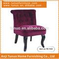 Canapé, meubles, en bois, dos avec des boutons, tb-7432