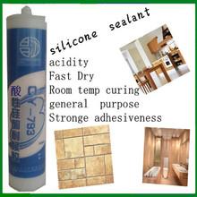 clear electronics silicone sealant&super quality silicone sealant& high temperature siliocne sealant