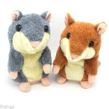 Talking Stuffed Hamster Speaking Animal Boy Girl Toy Cute Gift
