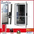 อลูมิเนียมหน้าต่างโค้งที่มีการออกแบบย่างร้อนขายการออกแบบกระจกหรือสมาร์ท
